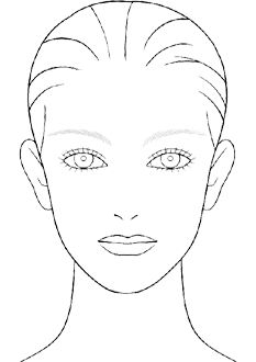 Face Drawing Templates