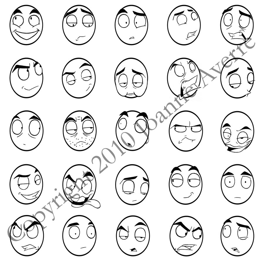 900x900 Sd Face Stamps By Expression
