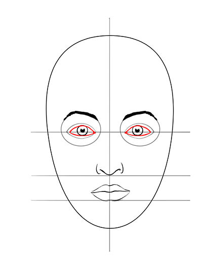 421x549 Draw A Face Face, Drawing Faces And Human Anatomy