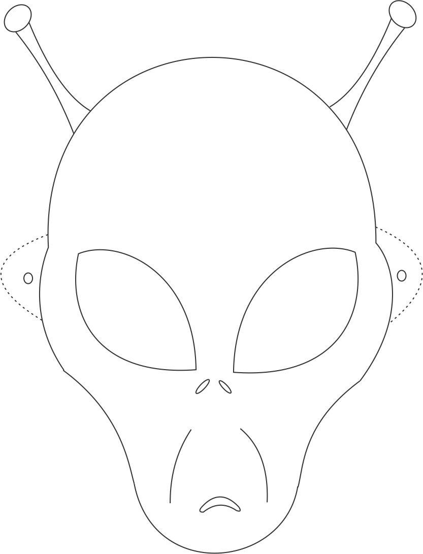 Free halloween mask patterns hallowen face mask drawing at getdrawings com free for personal use maxwellsz