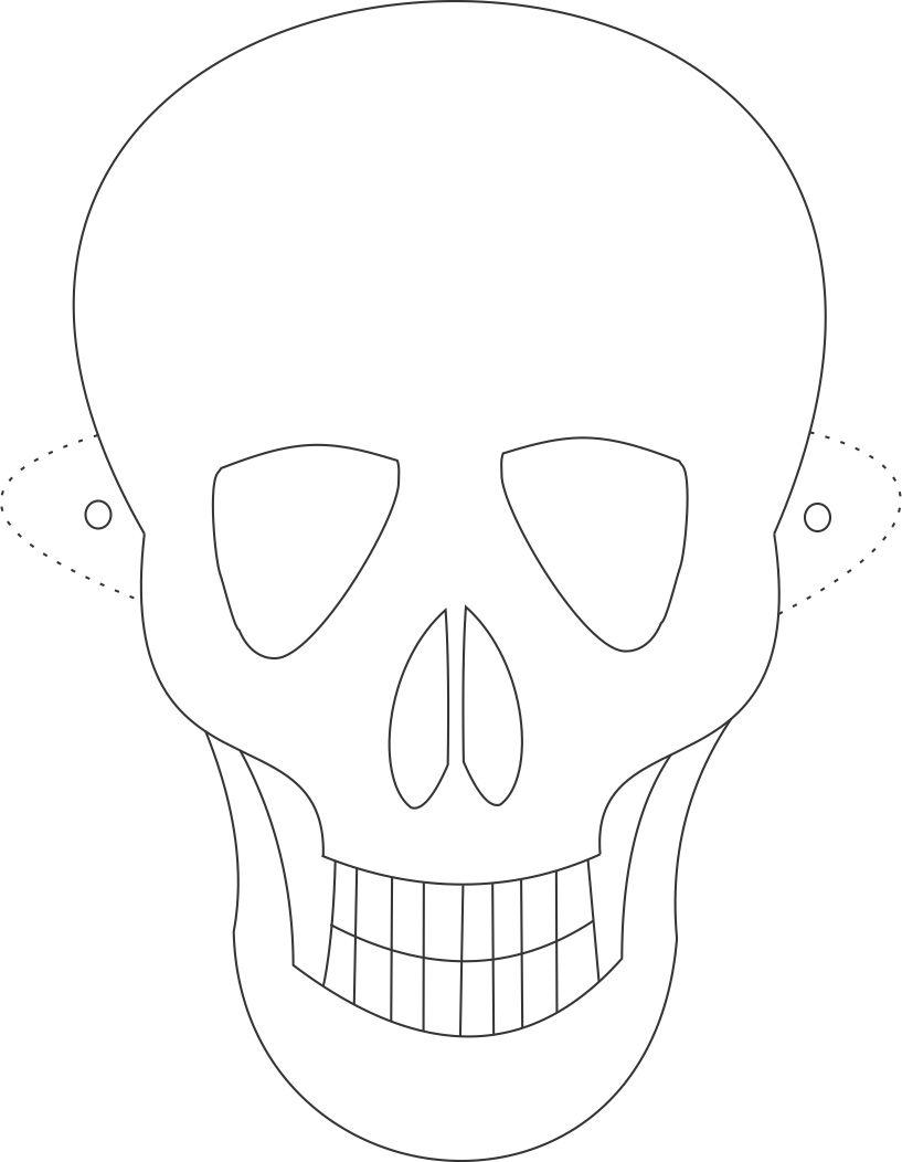 Face Mask Drawing at GetDrawings.com | Free for personal use Face ...