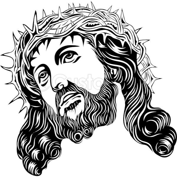 600x600 Jesus Of Face Men's T Shirt