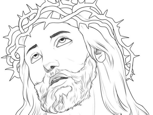 600x450 Religious Art Drawings How To Draw Jesus 30 Magnificent Drawings