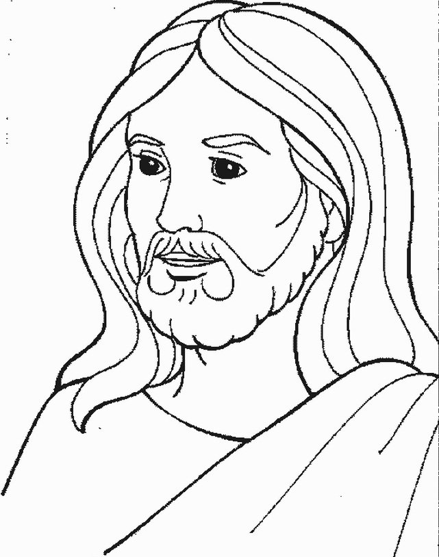 641x814 God Jesus Coloring Pages Free Coloring Pages Jesus Face In New