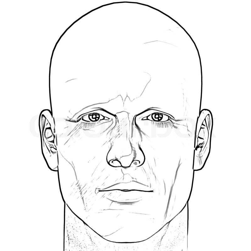 Face Outline Drawing at GetDrawings | Free download