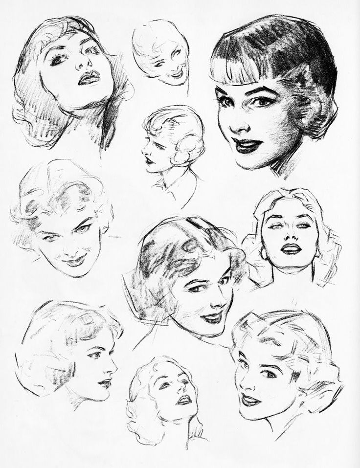 Face Reference Drawing