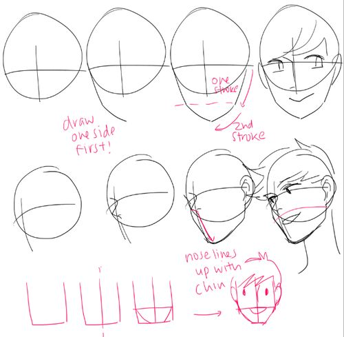 Face Reference Drawing At Getdrawings Com