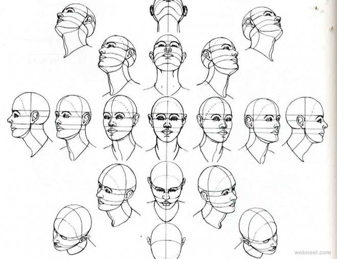 how to draw faces jazza
