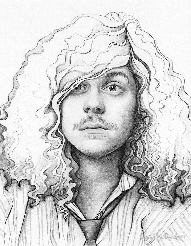 Face Shading Drawing