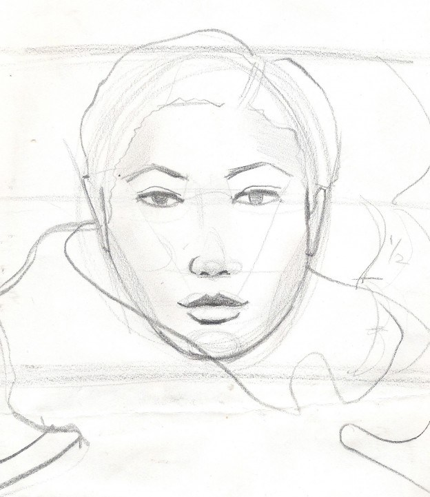 Face Sketch Drawing