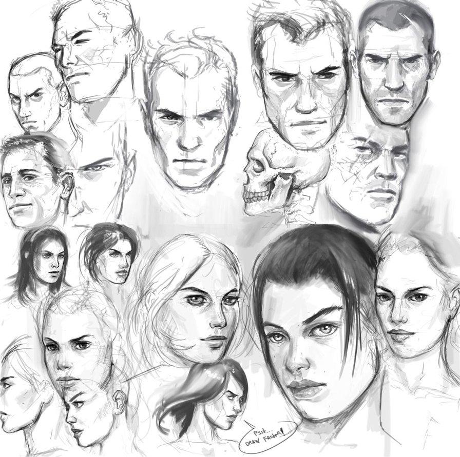 896x891 Michalkus Face Study 16 By Michalkus