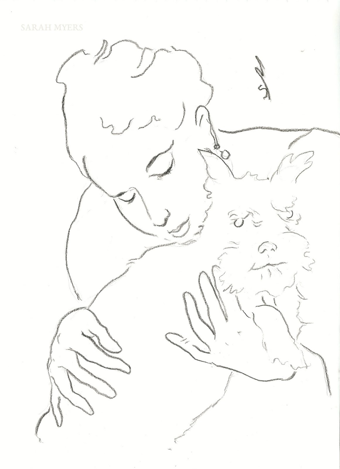 1161x1600 The Other Oeuvre Lady With A Small Dog