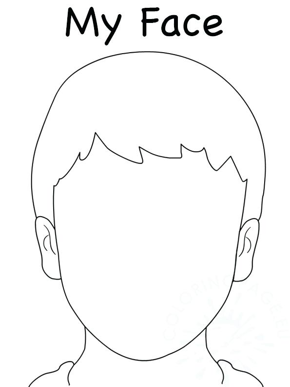 Elegant Face Template For Drawing_ 8