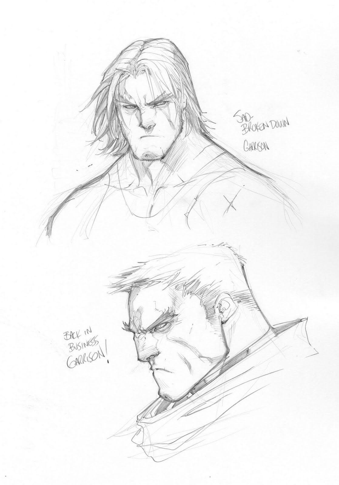 1118x1600 Joe Madureira Posted Some Of His Favorite Battle Chasers Sketches