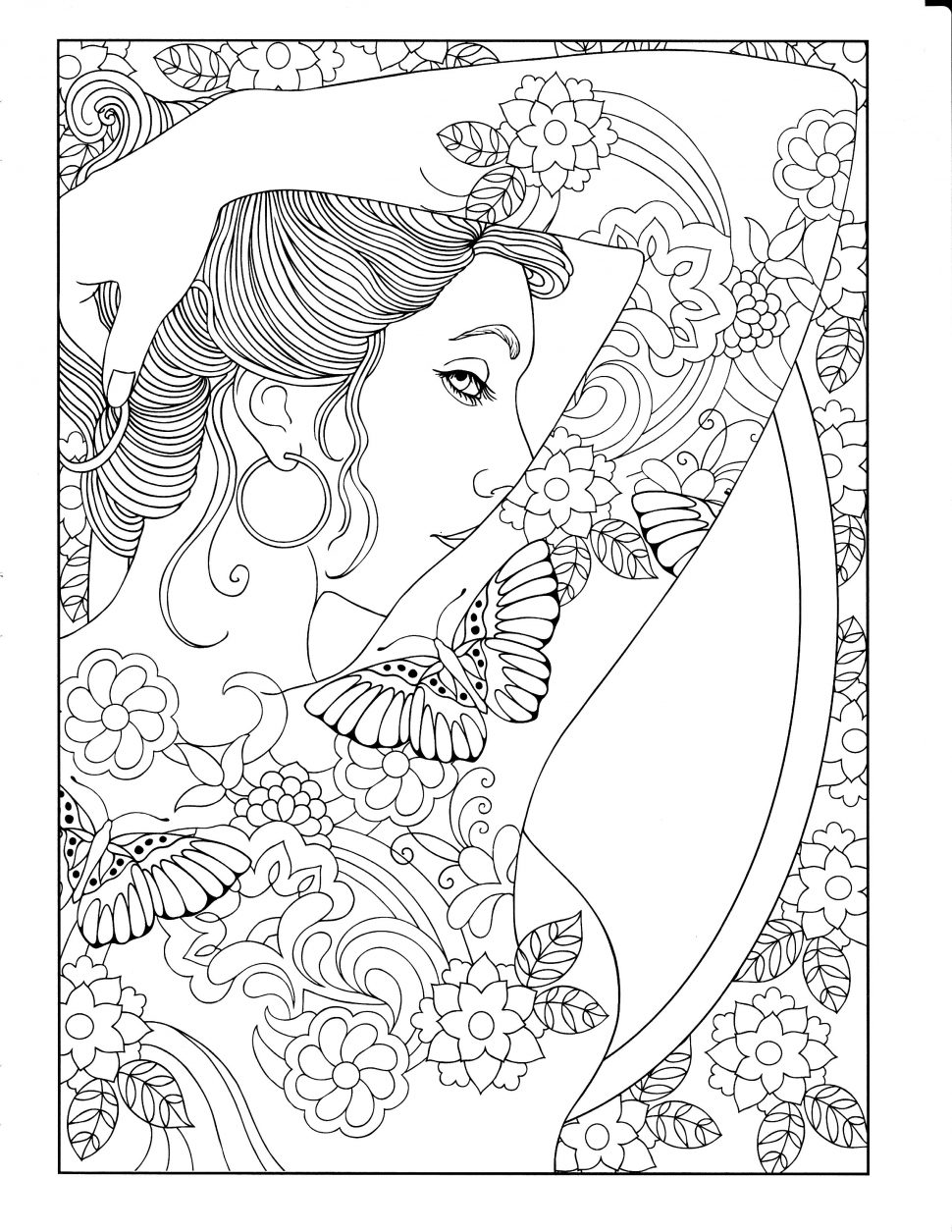 970x1255 Coloring Printable Coloring Page I Fucking Love Craft