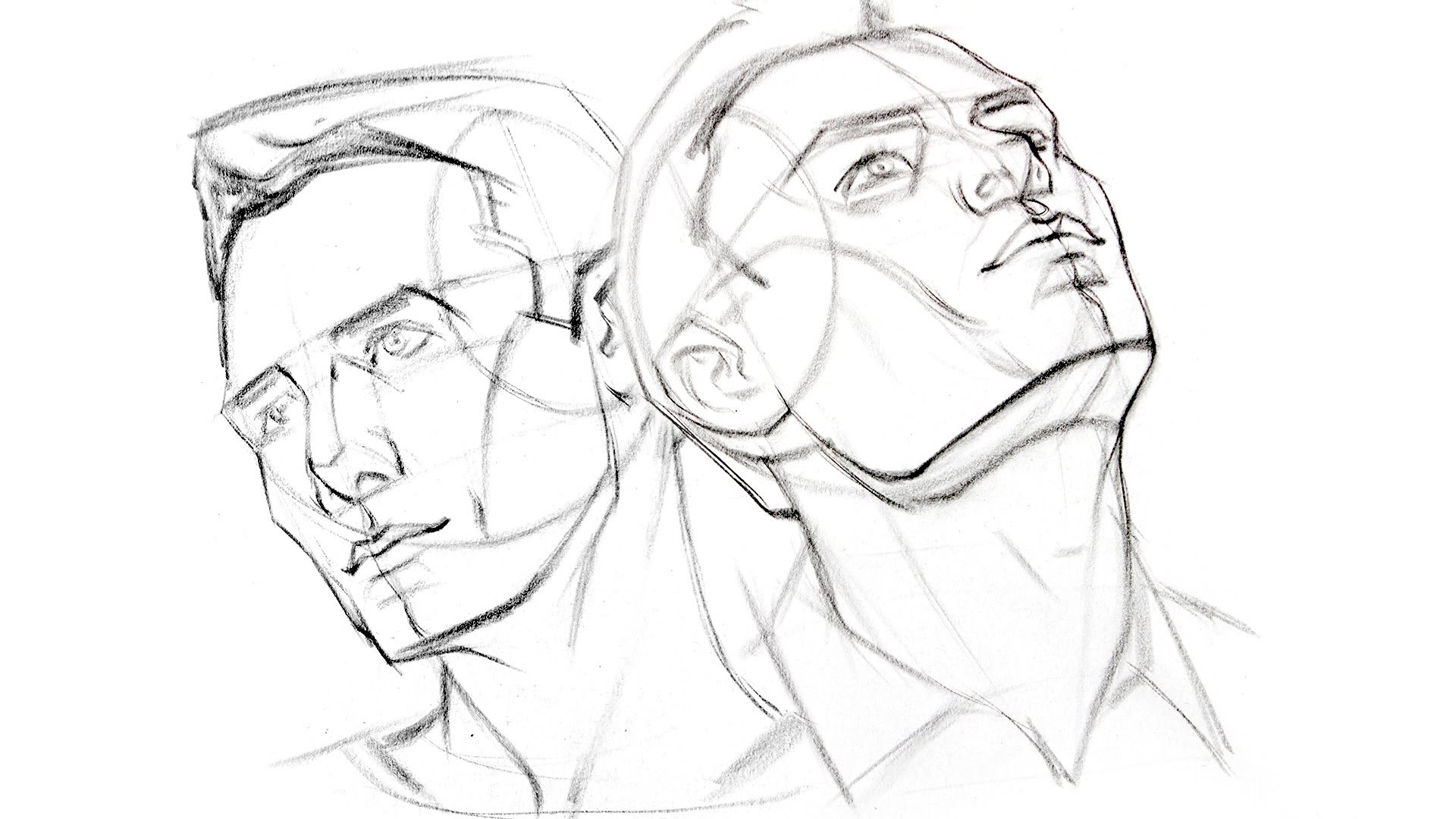 1920x1080 How To Draw The Head From Extreme Angles