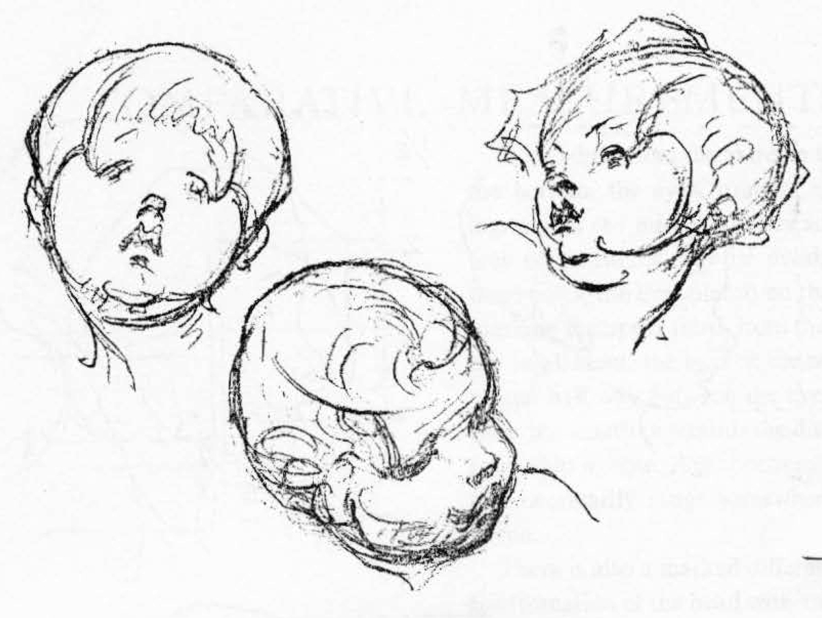 1200x902 Learn How To Draw Children's And Baby's Faces In The Correct