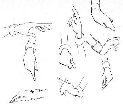 400x349 Fashion Illustration For Designers Amp Illustrators Hands Amp Feet