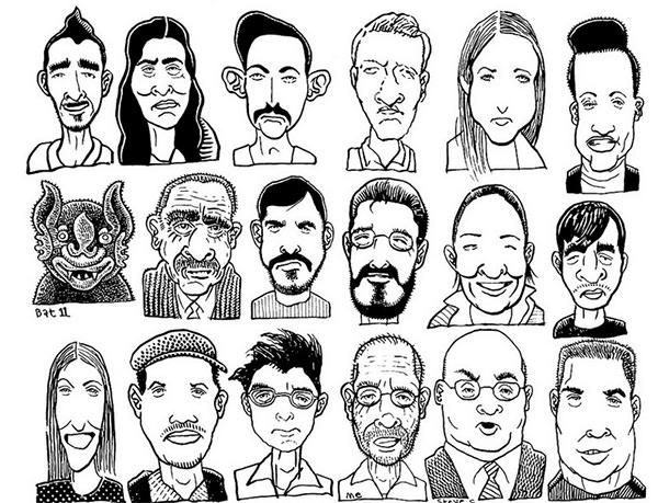 600x459 Cartoon Sketches, Cartoon Face Sketches Free Amp Premium Templates