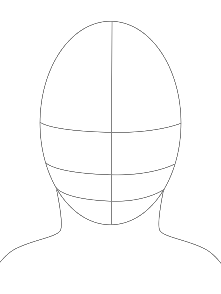 768x1024 Drawn Templates Drawing Templates Faces