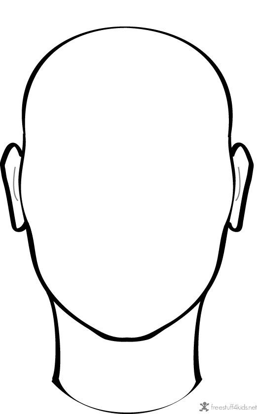 521x840 Blank Face To Draw On Projects To Try Face, Draw