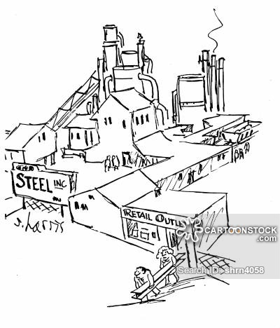 400x468 Steel Factories Cartoons And Comics