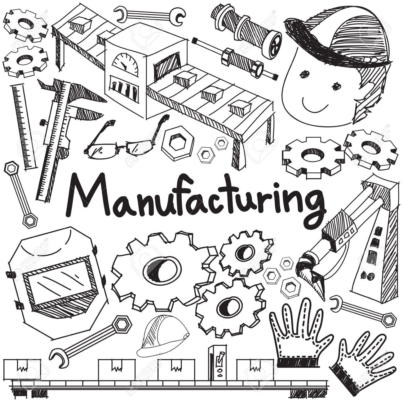 1300x1294 Manufacturing And Operation System In Factory Production Assembly