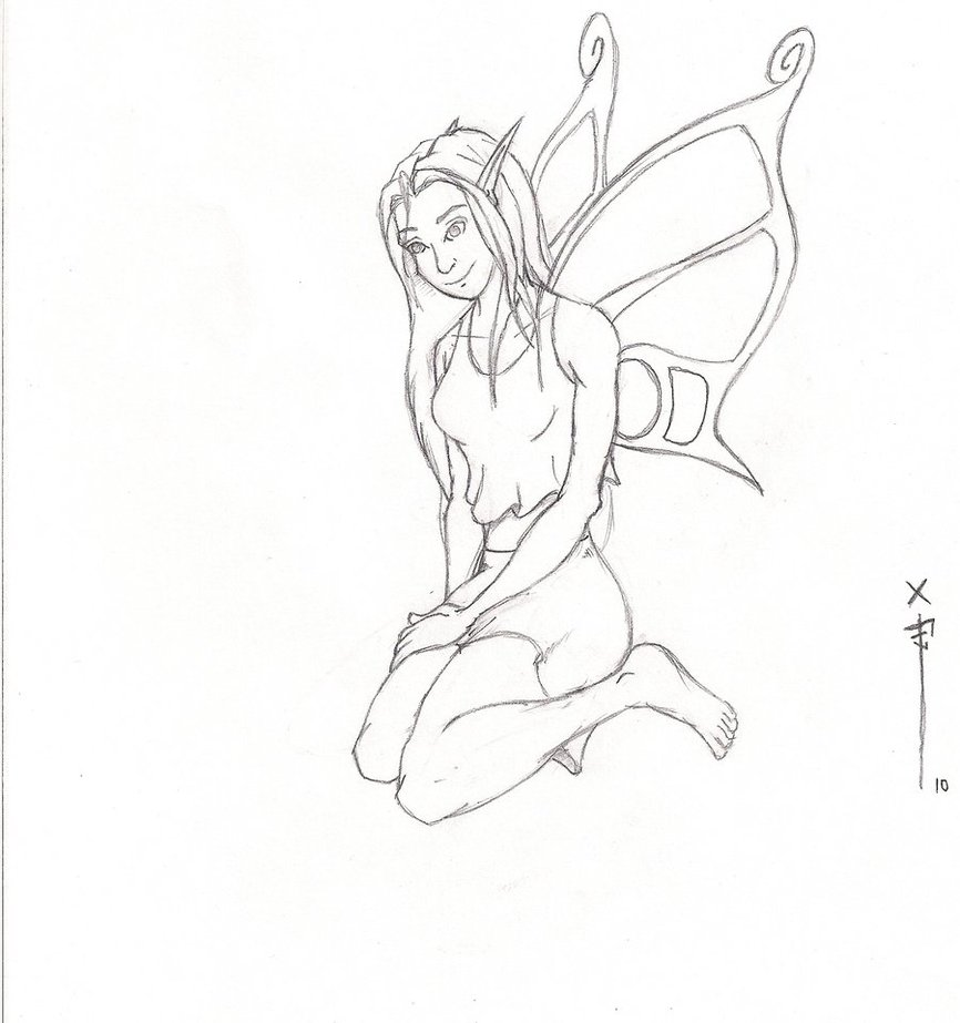 866x923 Faerie Drawing For Tara By Jayfish13