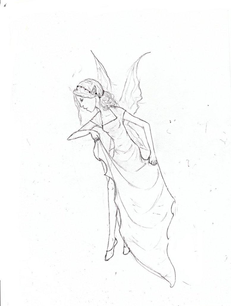 777x1028 Faerie Sketch By Ashriel Kid Of Voldy