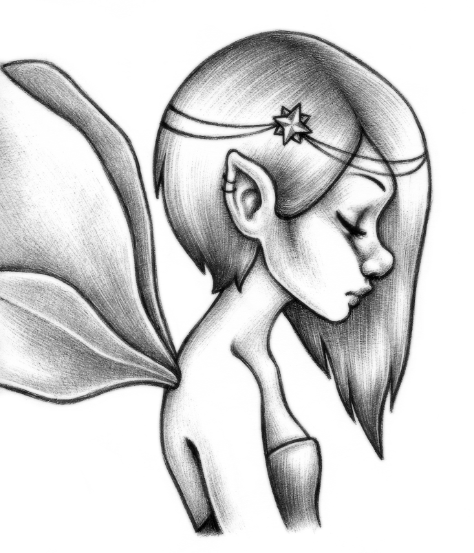 689x804 Fairy By Unsteadily