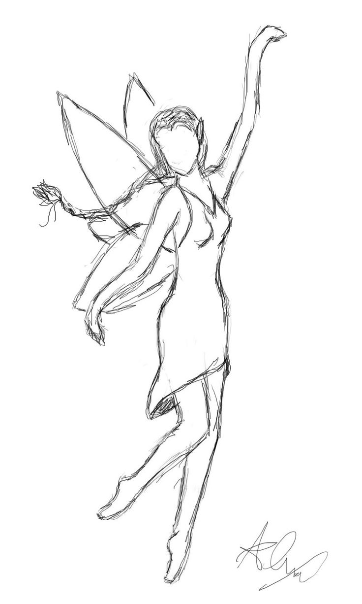 736x1226 Photos Easy Drawing Of A Fairy,