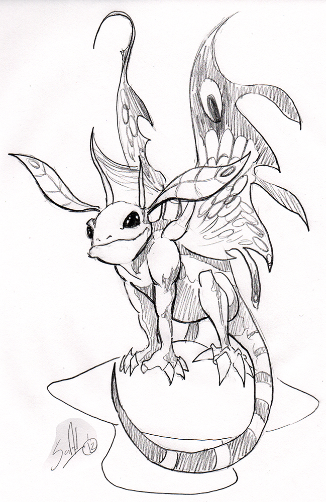 649x1000 Wow Art Faerie Dragon By Pscof42