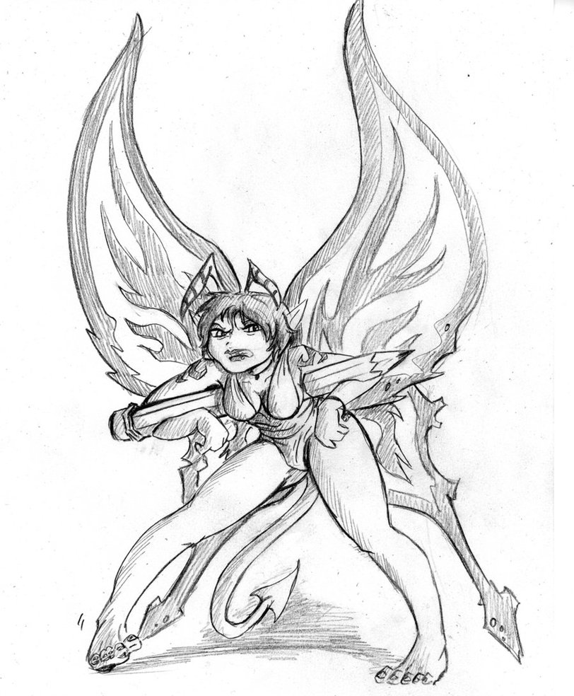 812x984 Evil Fairy By Trisk 7