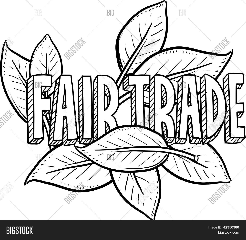 1500x1462 Fair Trade Sketch Vector Amp Photo Bigstock