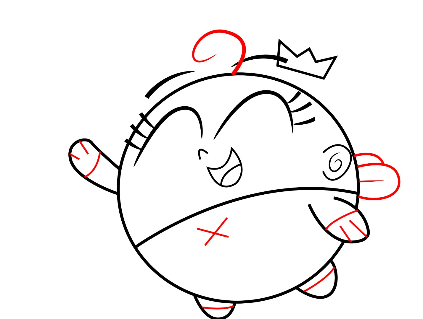 1429x1080 How To Draw Poof From The Fairly Odd Parents
