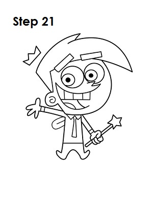 300x388 How To Draw Cosmo 21 Disegno Cosmos, Cartoon