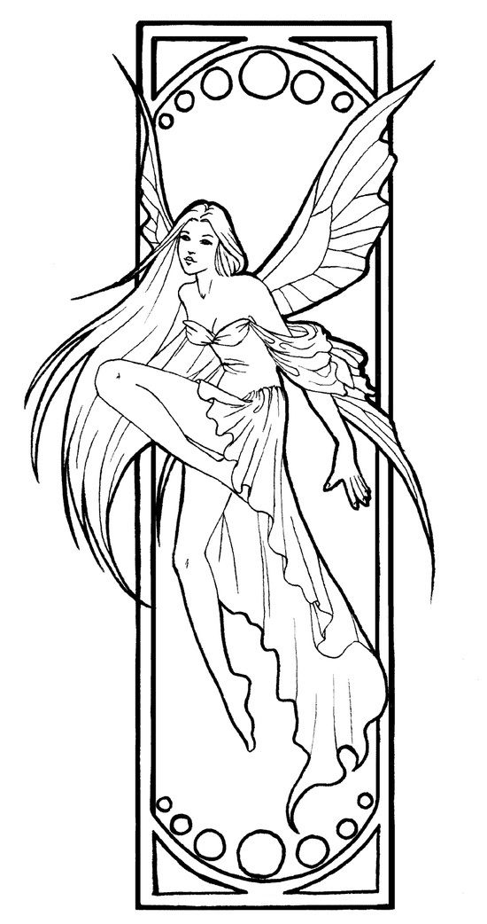 550x1042 Amy Brown Fairy Coloring Pages Amy Brown, Amy