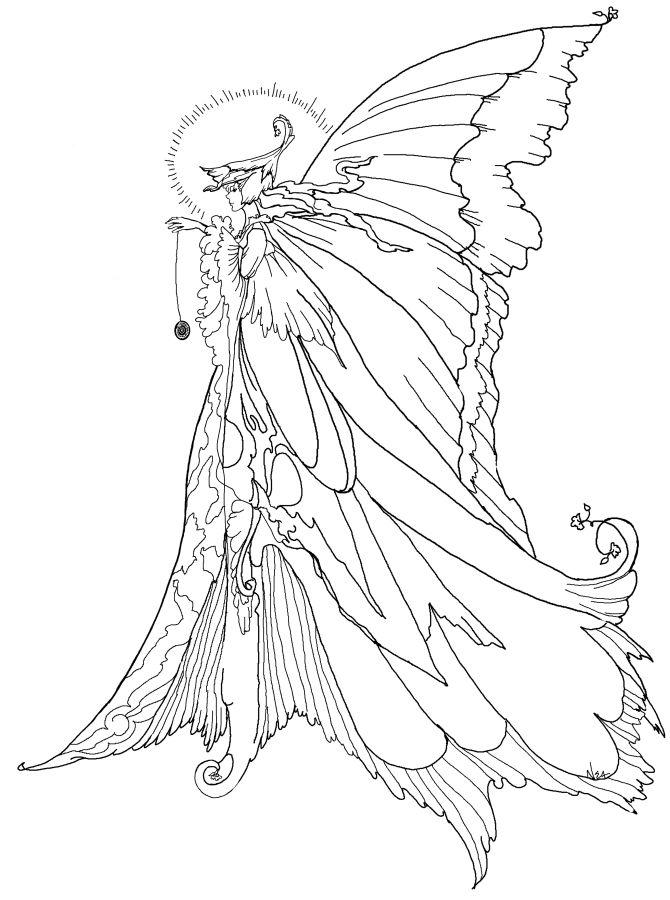 670x900 Fairy Coloring Books 25 Unique Pages Ideas On