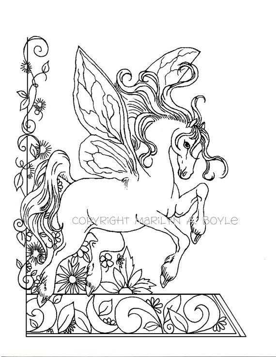Fairy Garden Drawing
