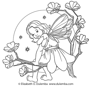 Fairy Garden Drawing at GetDrawings | Free download
