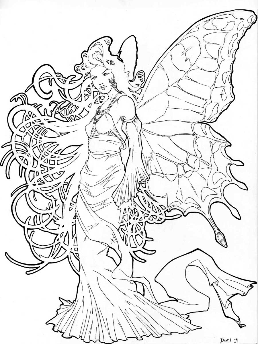 900x1200 Mucha Fairy By Azeto