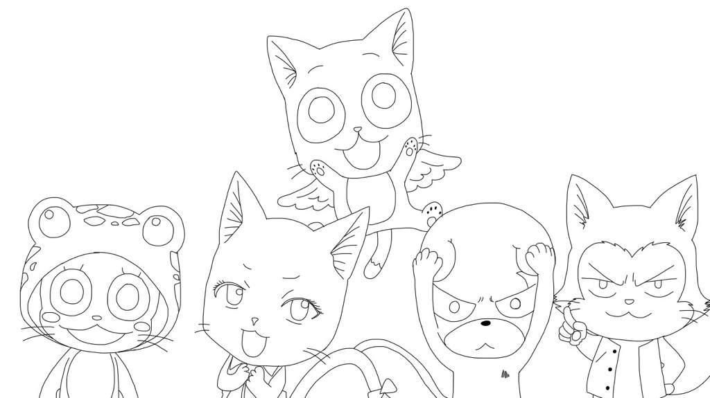 1024x575 How To Draw Neko Characters From Fairy Tail! Anime Amino