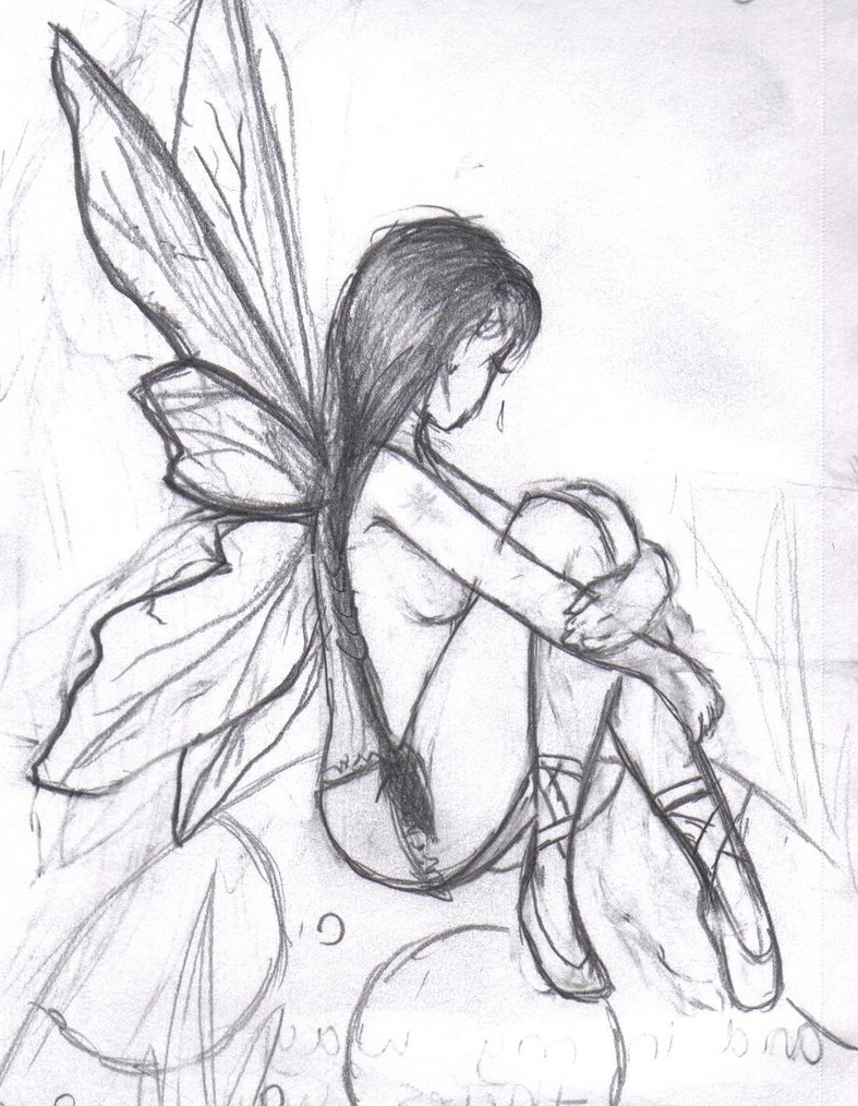 787x1014 Fairy Face Pencil Sketches Of Fairies