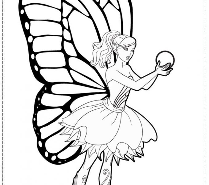 678x600 Fairy Princess Colouring Pages Fairy Princess Coloring Pages 28315