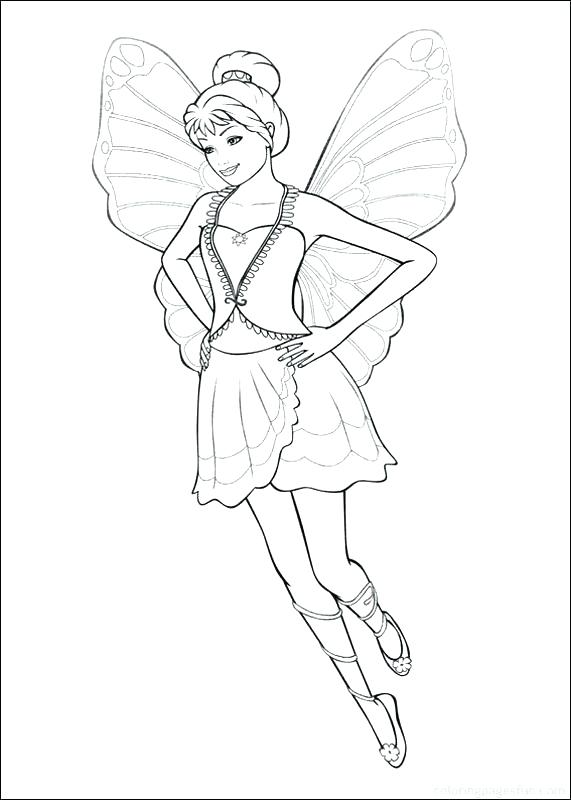571x800 Top Coloring Pages Of Fairies Print The To Barbie And Fairy