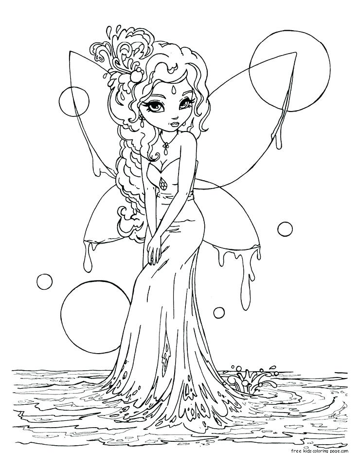 736x930 Coloring Pages Draw A Fairy Coloring Pages For Kids Adult Fairy