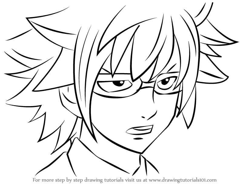792x612 Learn How To Draw Loke From Fairy Tail (Fairy Tail) Step By Step
