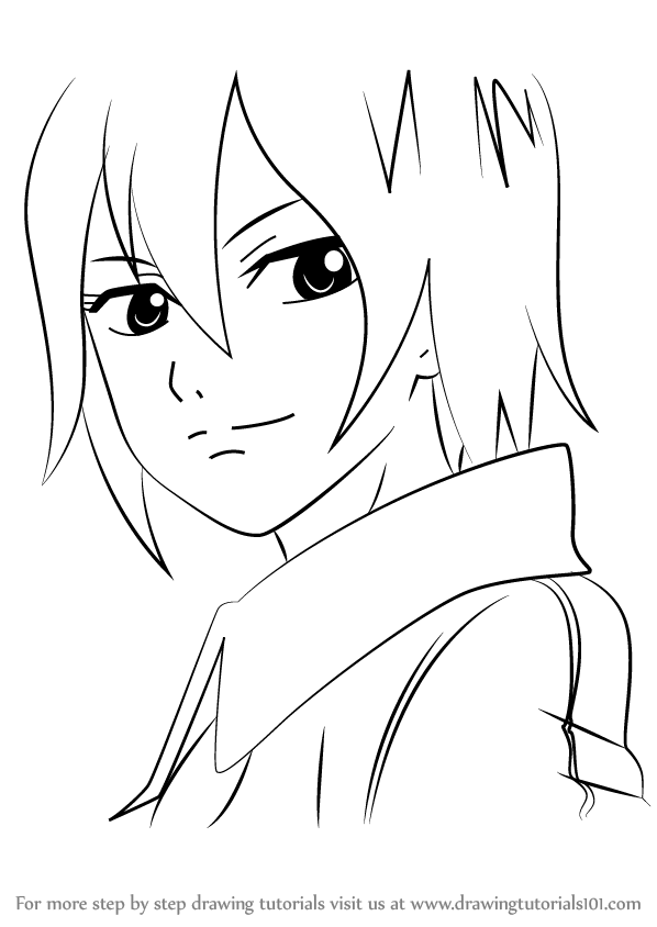 598x844 Learn How To Draw Ur From Fairy Tail (Fairy Tail) Step By Step