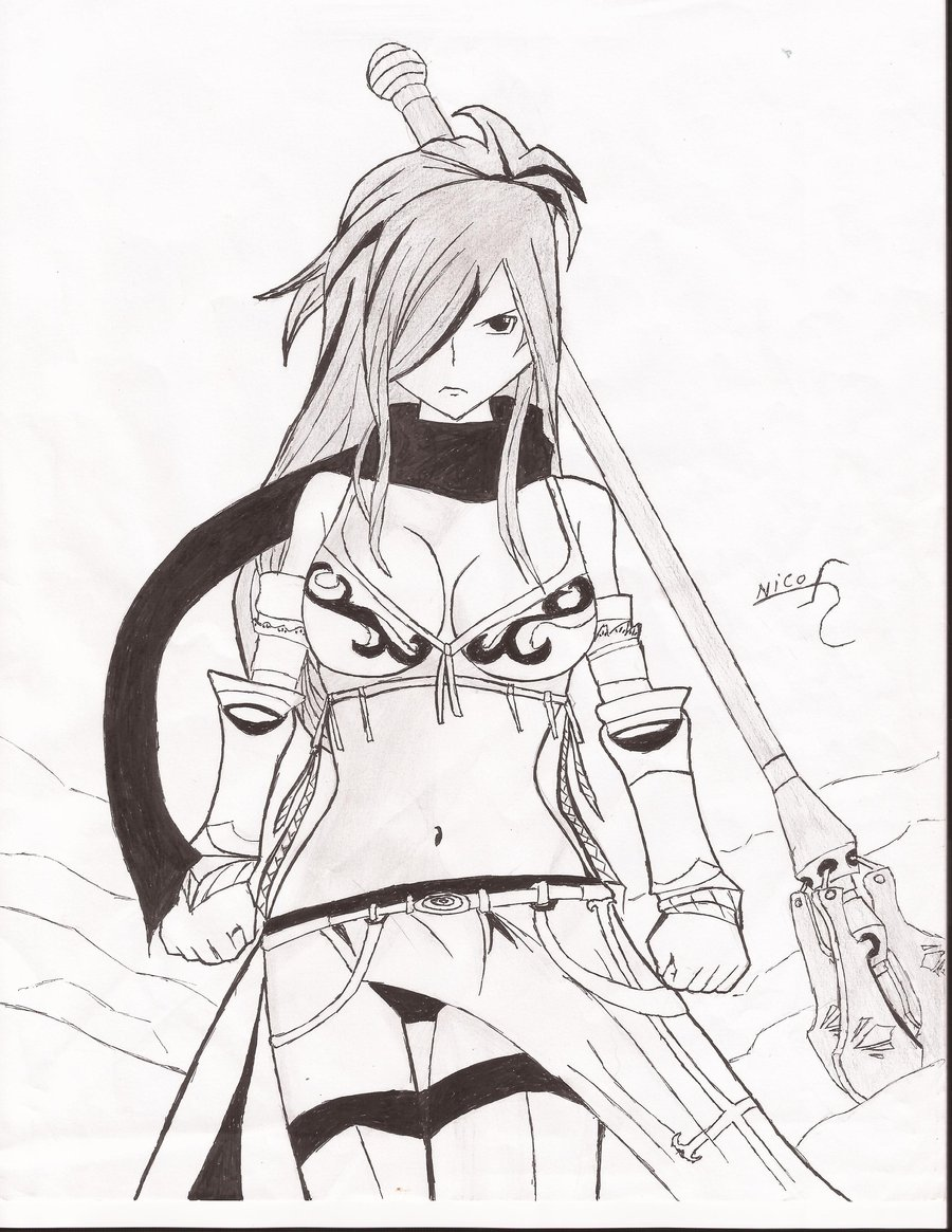 Fairy Tail Anime Drawing At Getdrawings Free Download