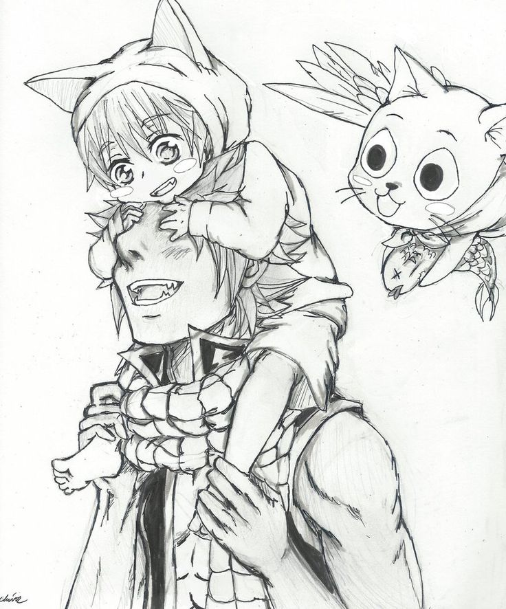 Fairy Tail Manga Drawing